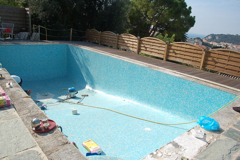 Rnovation Piscine En Polyester Sur Carrelage  maux  Album Photos