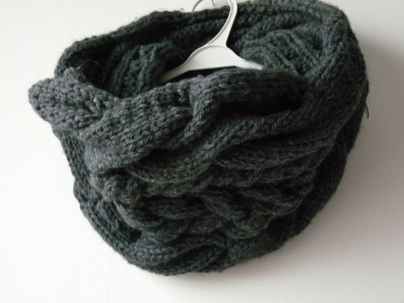 snood torsade phildar