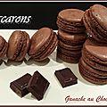 Macarons à la ganache montée chocolat au lait