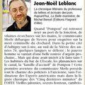 Article de Jean-Noël Leblanc