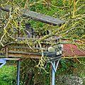 Drôle de cabane à Saint Clar