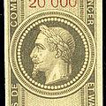 Le doublement des tarifs d'<b>effets</b> de <b>commerce</b> suite à la guerre de 1870
