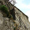 Pérouges escalier_4564