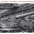 les cousins - le ministre de l'armement au <b>Creusot</b> - le prix du pain à Confolens - Les auxiliaires des classes 1904-1905
