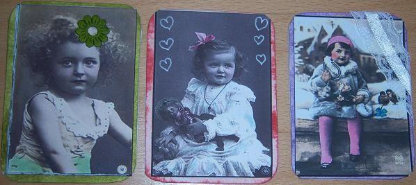 ATC INSPIRATIONS VINTAGE PORTRAITS D'ENFANTS SERIE1