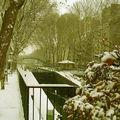 Il neige sur la France