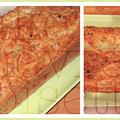 Cake chèvre-noisette & jambon