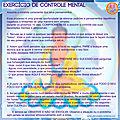 EXERCÍCIO DE CONTROLE MENTAL - Controle seus pensamentos!