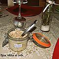 Fauxmage figue, raisins et noix