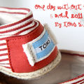 One day without shoes ... TOMS Shoes