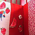 2-Tour de lit FrutapuLs' - vue détail hochets