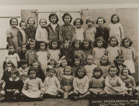 Ecole des filles 1942-1943