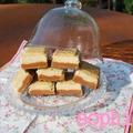 Shortbread caramélisé et chocolaté!