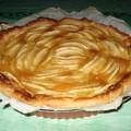 Tarte aux pommes et à la frangipane