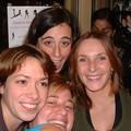 Sand, Math brune, Blonde et Steph à la soirée calendriers 2006
