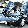 Mclaren f1 - bugatti veyron 16.4 - photos @ circuit gueux (france) -