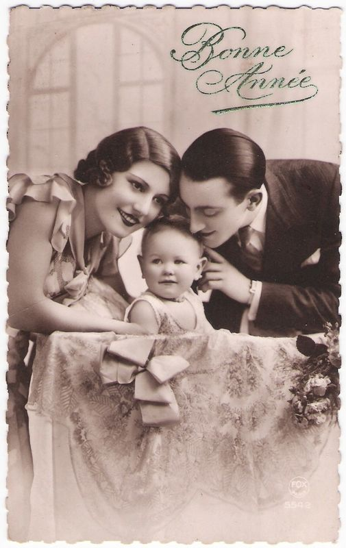 Carte Augustine Magnier 1935