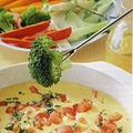 <b>Fondue</b> de légumes à la tomate