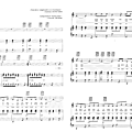 Busted - Fauché (Partition - Sheet Music) 02