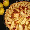 Tarte aux pommes façon bourdalou