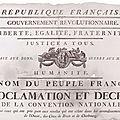 Affiches révolutionnaires sur le site des Archives de la <b>Vendée</b>