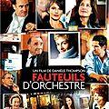 Fauteuils d'orchestre - Danièle Thompson