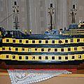 HMS Promotheus : un gros bateau...en coupe