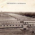 Camp de Satory, Versailles, les baraquements