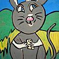 <b>Pépito</b> est gris comme une petite souris