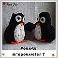 Pingouin au crochet 02