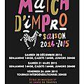 affiche 2014 verso matchs