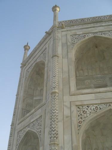 Details, sur le Taj Mahal