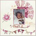 01 léonie 1 mois