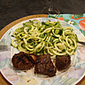 Salade de courgettes (zucchinis)