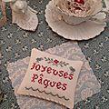 NEW N°14 Joyeuses Pâques Mini Pillow