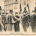 Cérémonie militaire du 21 janvier 1914 à <b>Belfort</b>