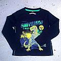 Tee-shirt dinosaure, <b>3</b> <b>ans</b>