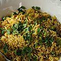 Biryani rice, la recette d'udaipur