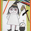 Tuto pour dessin dirigé de la petite sorcière