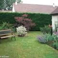 Le banc de mon jardin à Boigny sur Bionne