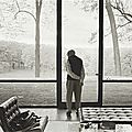 <b>Annie</b> <b>Leibovitz</b>, Philip Johnson, Glass House, New Canaan, Connecticut, 2000