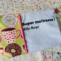 21 - Trousse personnalisée SUPER MAITRESSE / ATSEM...