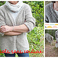 GILET FEMME TOP DOWN POIDS PLUME EN ALPACA BRUSHED DE DROPS