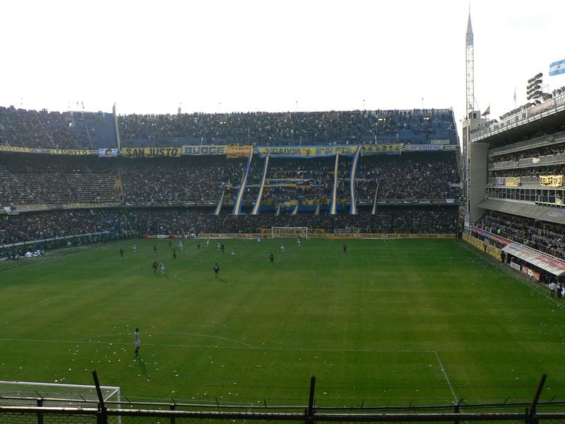 La Bombonera, le stade de Boca Juniors