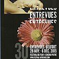 <b>EntreVues</b> 2015 & rétro sur le festival 1986