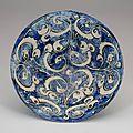 Fritware bowl, Iran (Kashan), <b>Early</b> <b>13th</b> <b>century</b>