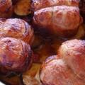 Riz au four à la tomate et au chorizo et bonus paupiettes.