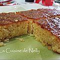 Gâteau fondant citron et noisette