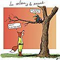 Parce que voici ma traduction pour le corbeau et le renard... (ou la méthodologie pour apprendre une poésie)