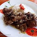 Ragoût de bœuf antillais